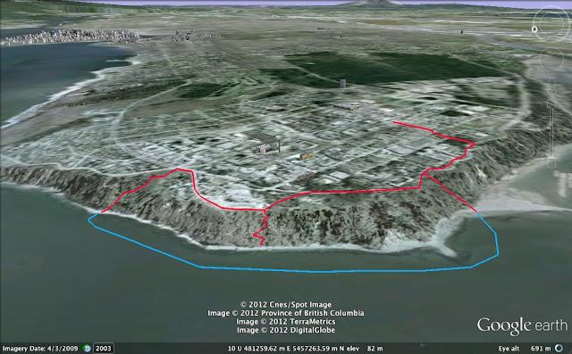 Vancouver ocean swimming blog