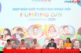 Sôi động cùng đại nhạc hội Funring Day Mobifone