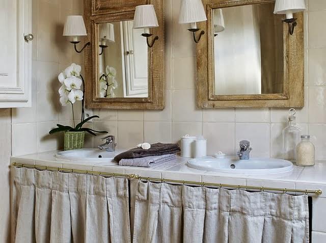 Retro y con encanto sin puertas for Ver cortinas de cocina