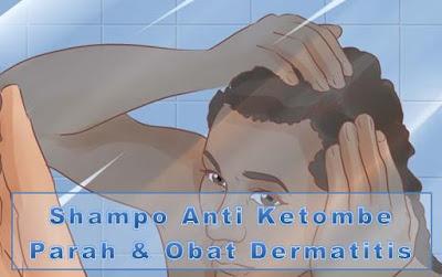 Gb. Shampo Anti Ketombe Parah & Obat Dermatitis Seboroik
