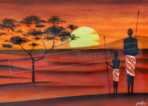 La pintura es poes a muda ldv pinturas de bernard - Cuadros de atardeceres ...
