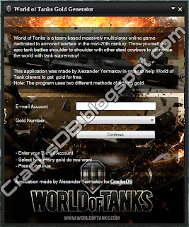 World of Tanks Gold Hack