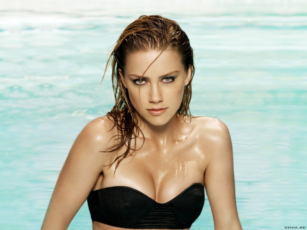 TOP WALLPAPERS: AMBER-HEARD HD Amber Heard