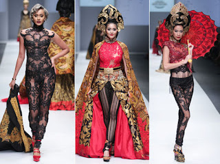 Foto Model Kebaya Modern Transparan Anne Avantie Trend Fashion Terkini