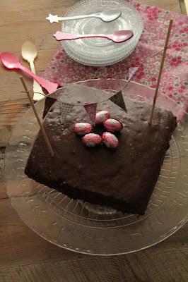 Gâteau au chocolat pour  Pâques recette du chocolatier Patrick Roger