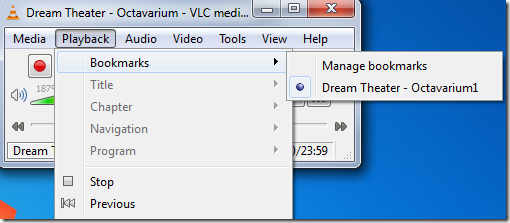 Bookmarking media , VLC features, vlc usage, vlc player, tech info, bookmarking in vlc