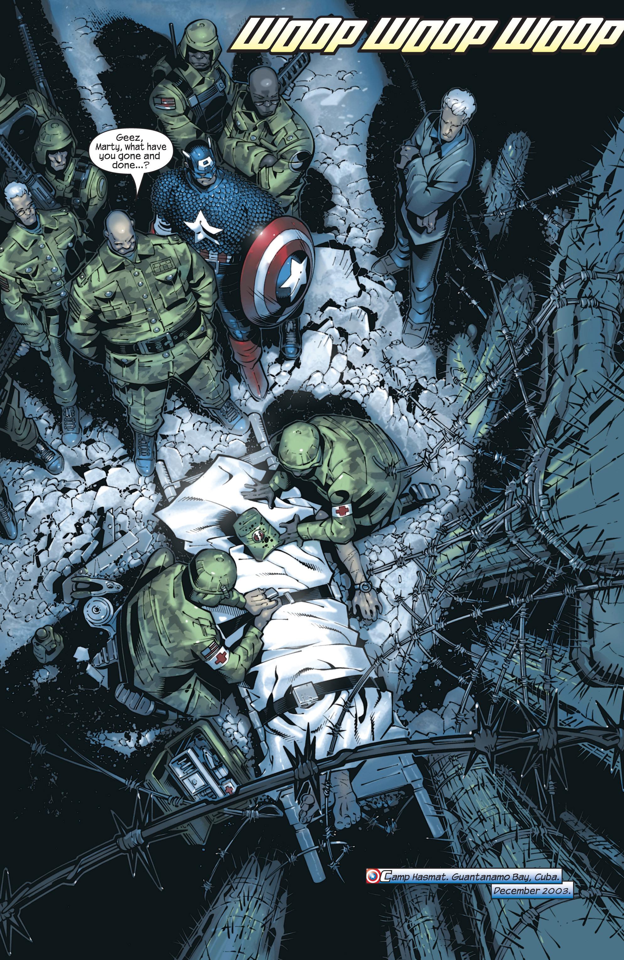 Captain America (2002) Issue #23 #24 - English 4