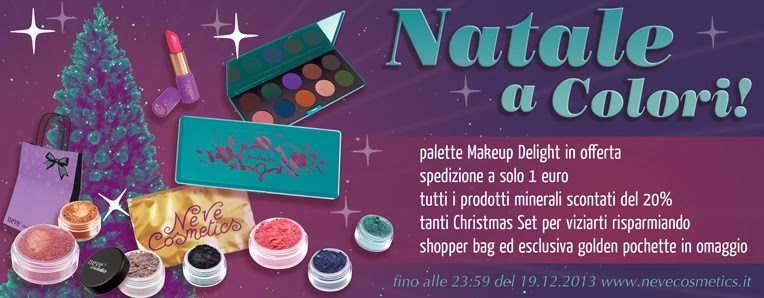 Neve Cosmetics - Le promo di Natale a Colori!