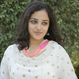 Nitya meenon Latest Photo Gallery in Salwar Kameez at New Movie Opening 10