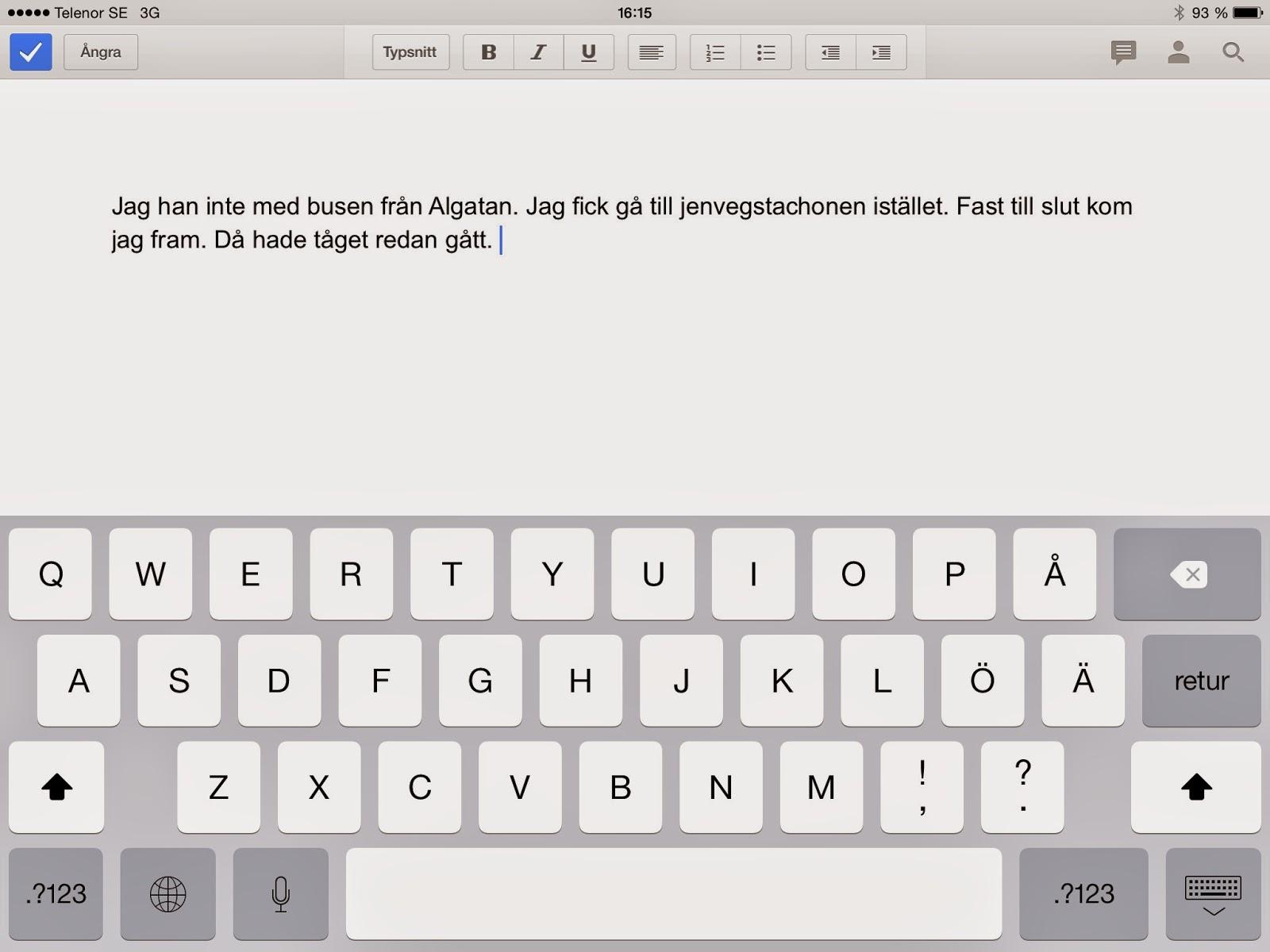 skriva text på bild app