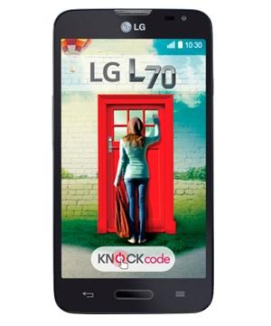 LG Optimus L70 Negro Tienda Claro Perú