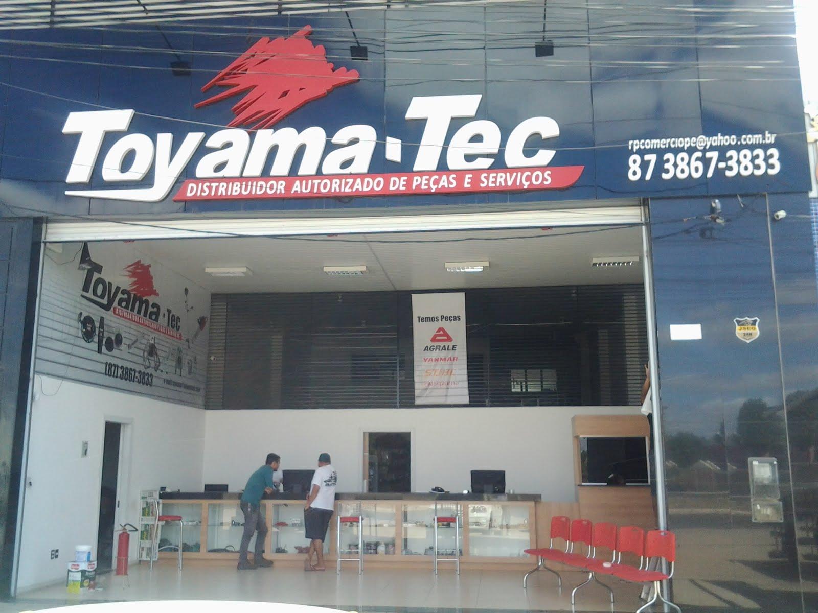 Toyama-Tec Distribuidor autorizado de Peças e Serviços fone 87 3867 3833 Avenida Sete de Setembro-