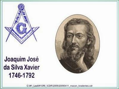 Joaquim José da Silva Xavier - Maçonaria Independente.