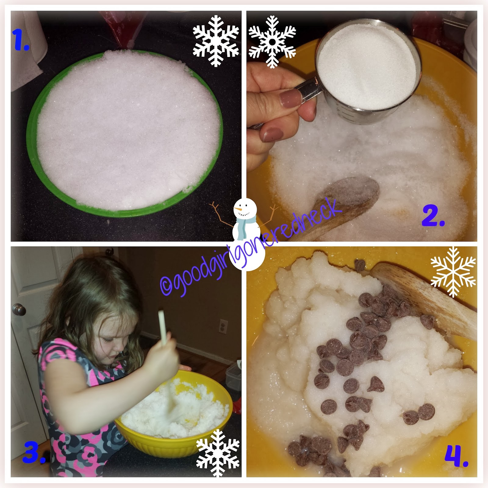 snow cream, winter, dessert, ice cream, delicious, recipe, kid-friendly