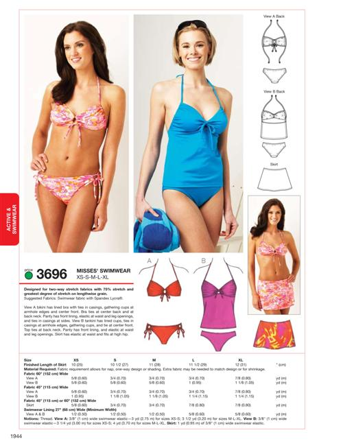Sewing Circle: Make your own swimsuit / Create / Enjoy