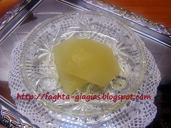Κίτρο ή κιτρολέμονο γλυκό του κουταλιού - Τα φαγητά της γιαγιάς