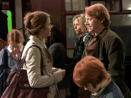 Ronmione loveteam ron and hermione family - Ron weasley and hermione granger kids ...