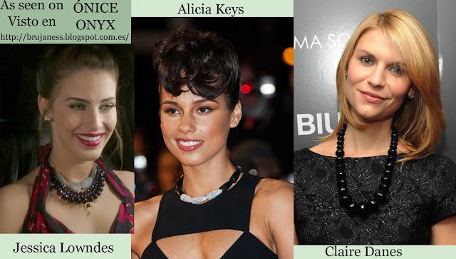 As seen on / Visto en Celebrities, onice, onix, Alicia Keys