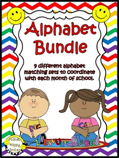 Alphabet Bundle Planet Happy Smiles