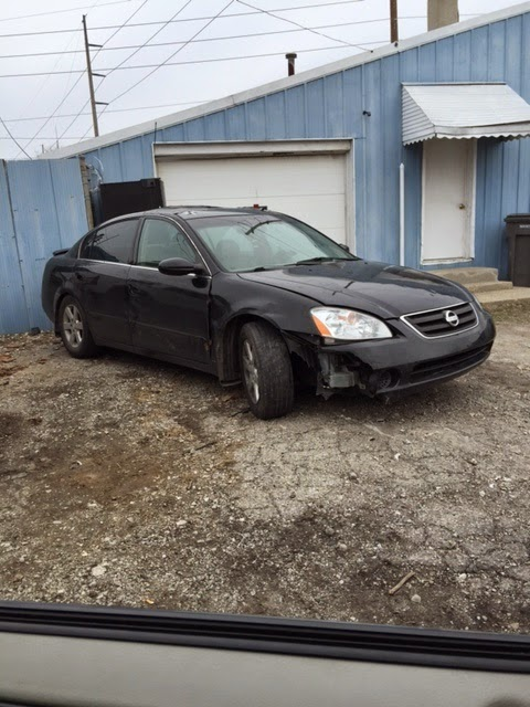 Nissan Altima Junk Car