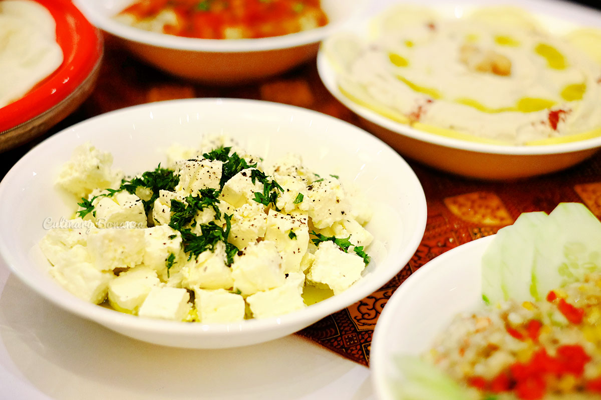 Feta Cheese for Ramadhan at Sailendra Restaurant, JW Marriott Jakarta (www.culinarybonanza.com)