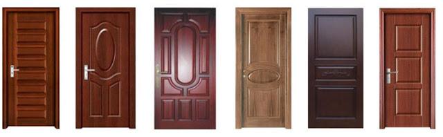 warna pintu untuk interior rumah minimalis