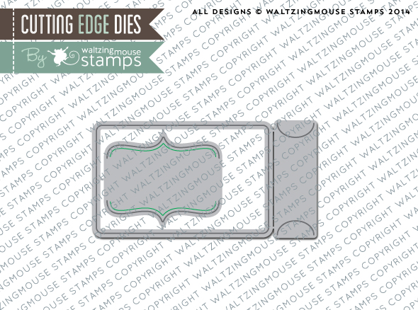 Gift Card die set from Waltzingmouse Stamps