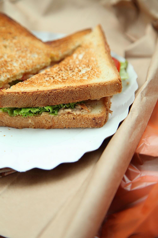 бутерброд, завтрак,