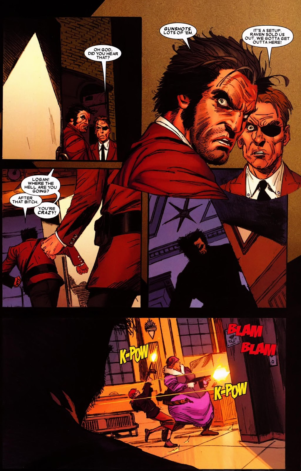 Read online Wolverine (2003) comic -  Issue #65 - 4