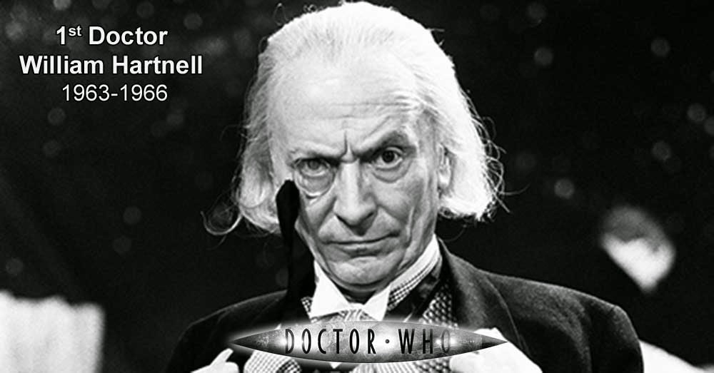 William Hartnell, el Primer Doctor