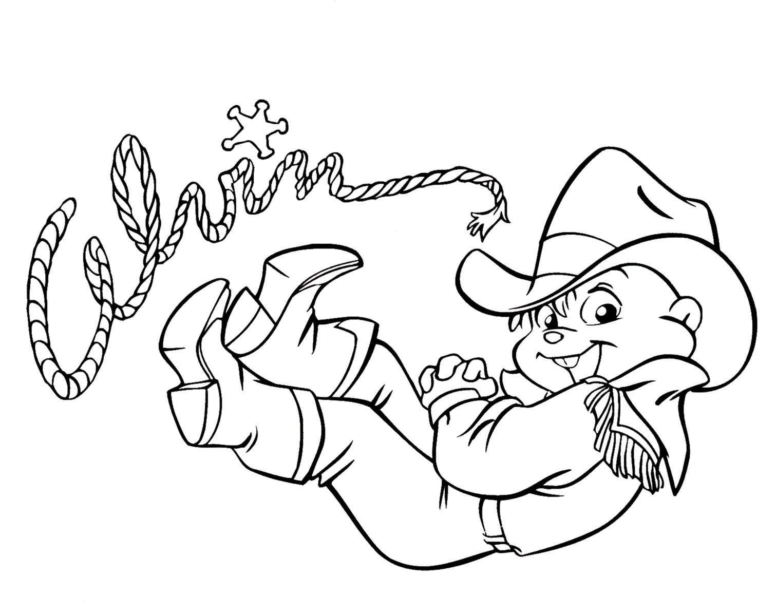 Dibujos de alvin y las ardillas para colorear - Imagui