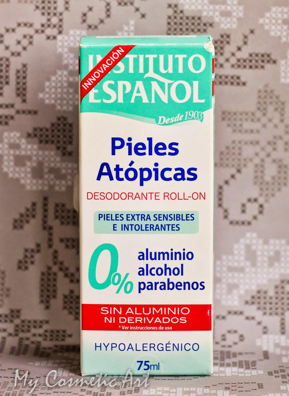 Desodorante sin Aluminio de Instituto Español