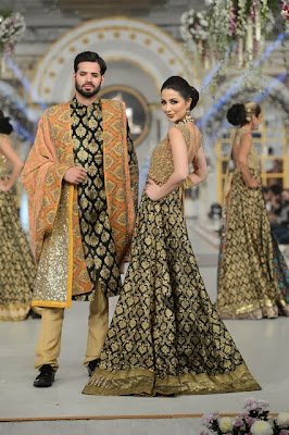 HSY - Pakistani Bridal Fashion at Pantene Bridal Couture Week 2013 PBCW Lahore