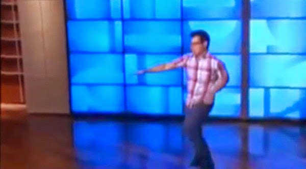 Spotted: John Prats dancing on The Ellen Show