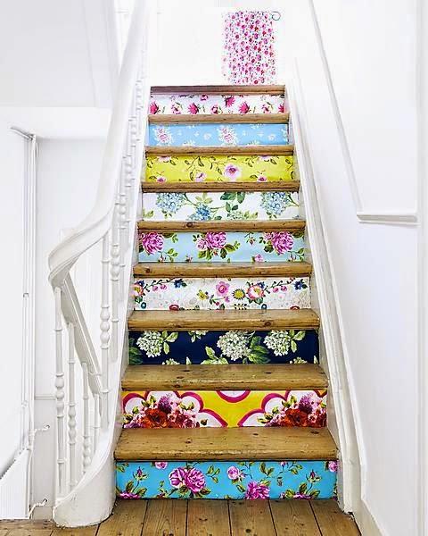 DIY stair prints