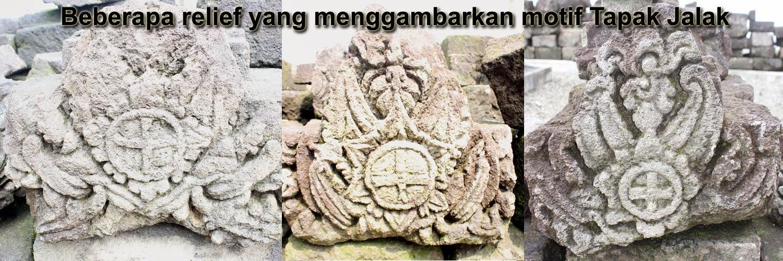 Relief Model Batu Tapak Jalak