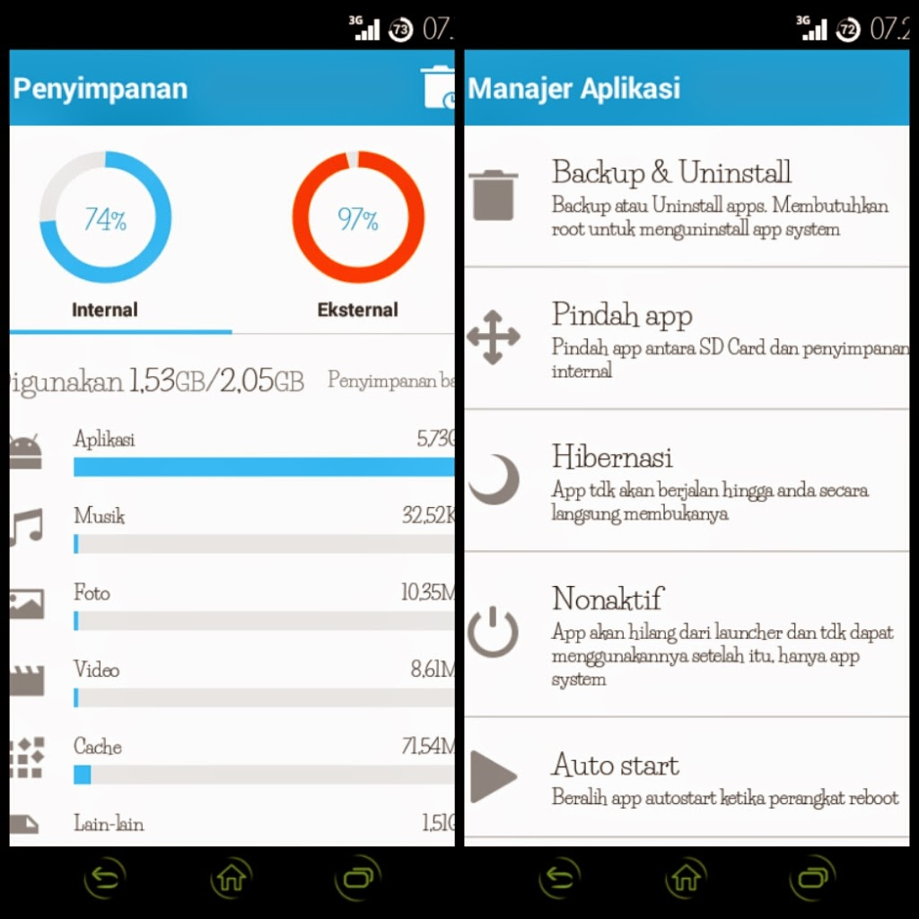 Smart Booster Melegakan RAM Otomatis (Dunia Android)