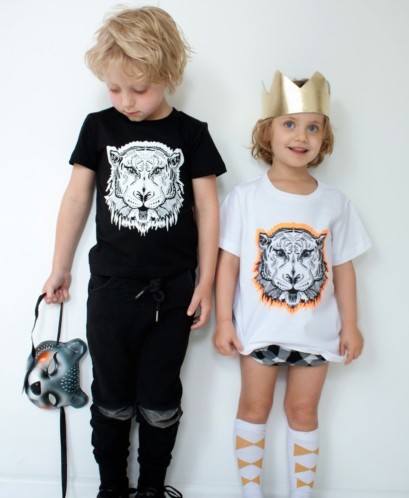Tiger print by Maiko Mini - New Australian kidswear brand