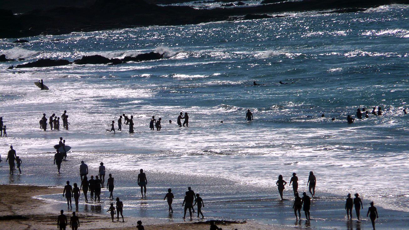 pocas olas en sopelana