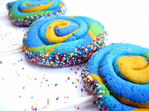 Cantstopbaking: Rainbow Pinwheel Cookies