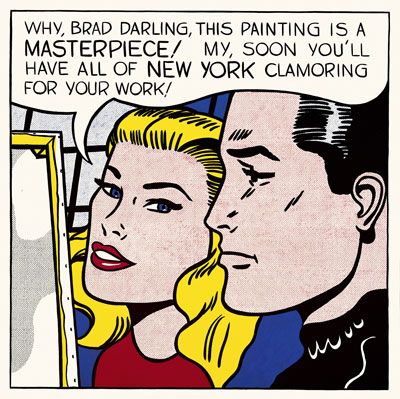 Roy Lichtenstein, Masterpiece 1962