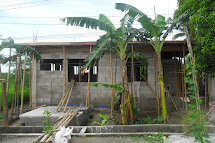 Concrete Block House in Philippines