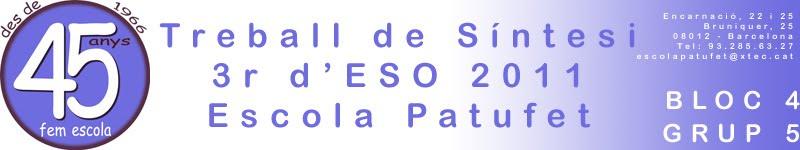 TS 3r d'ESO 1011 Bloc 4 - Grup 5