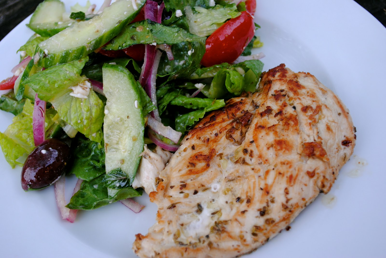 Grilled Chicken Paillards With Mint Salad Recipes — Dishmaps