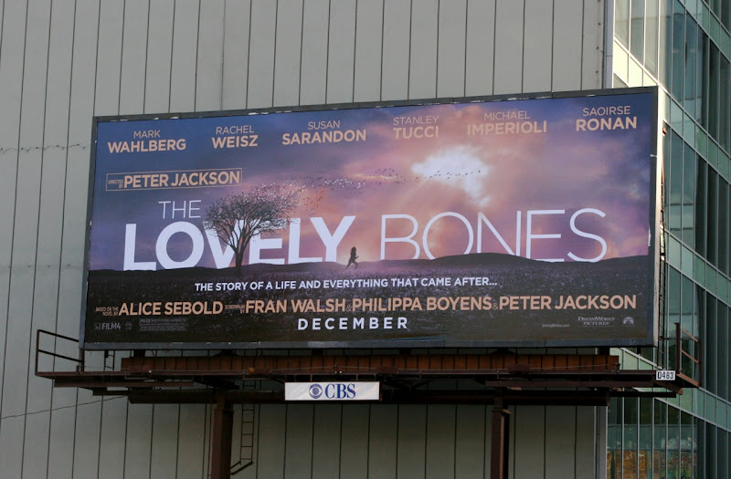 The Lovely Bones movie billboard