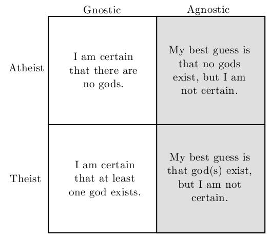 define ignostic