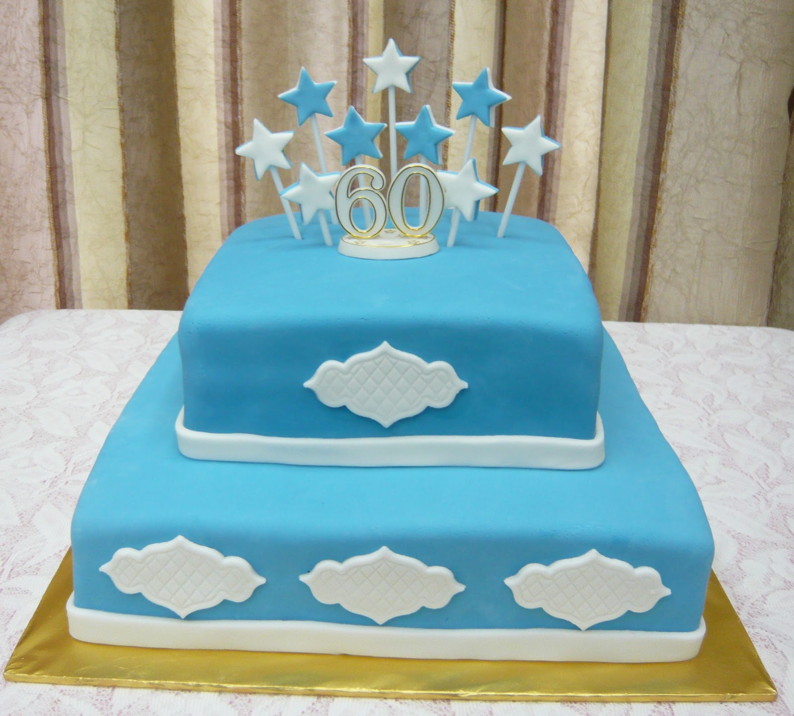 60th Birthday Cake Commissioned For Our Youth Counsellor Who Is Turning 60