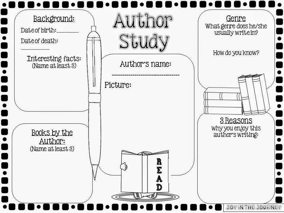 How to Do an Author Study | Reading Rockets