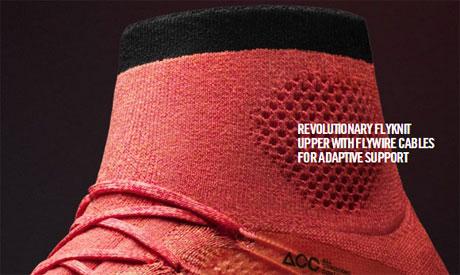 Foto Sepatu Bola Nike Terbaru dilengkapi dengan Flyware Cable