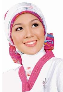 Cara Memakai Jilbab Pita Simetris